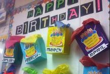 Classroom - Birthday/Tooth Ideas / Fun, learning ideas for the elementary classroom. birthday celebrations and lost tooth celebrations
