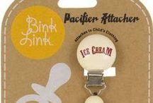 Binklink Pacifier Clips & Fruitabees Necklaces