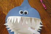 1 May - Ocean / Fun, learning ideas for the elementary classroom. Ocean animals, sea life.