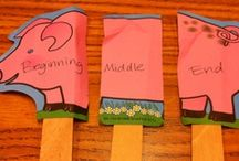 Comprehension - Sequence/Retell / sequencing, retelling, beginning, midde, end of the story