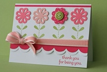Paper Talk... Thank you cards / Cards / by Artelsie