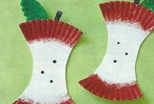 1 September- Apples / Apple units and apple crafts, Johnny Appleseed
