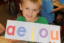 Phonics - Vowels / Fun ideas for teaching phonics (vowels) in the kindergarten classroom.