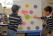 Centers - Big Books / Fun, learning ideas for the elementary classroom. Big book center ideas.