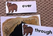 Math - Positional Words / Fun ideas for teaching math  in the kindergarten classroom. Positional Words