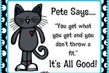 Pete the cat / by Lori Cater