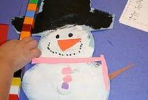 January / Everything January - snow, snowmen, snowflakes