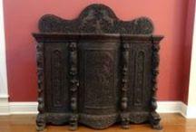 Antique British Colonial Furniture