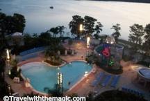 Bay Lake Tower at Disney's Contemporary Resort / Bay Lake Tower at Disney's Contemporary Resort at Walt Disney World in FL.