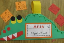 Phonics - Letter Crafts / Fun ideas for teaching phonics (letter crafts) in the kindergarten classroom.