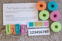 Math - Number ID / Fun ideas for teaching math  in the kindergarten classroom. Number id