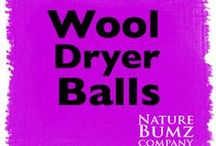 Wool Dryer Balls /     ~100% wool to the core     ~Using 4 dryer balls on a 90 minute cycle will cut a small load of laundry in 1/2 and a large load by 1/4!     ~Saving you approx $.26 on a large load and $.51 on a small load of laundry!     ~Will not strip PJ's of their flame-resistant qualities as fabric softeners do.     ~Easy to re-scent, leaving your laundry with a soft scent of your choice.