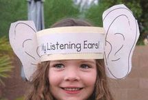Science - Five Senses / Fun ideas for teaching science in the kindergarten classroom.  Five Senses