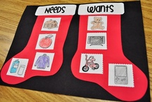 Social Studies - Needs and Wants / Fun ideas for teaching social studies in the kindergarten classroom. Needs and Wants