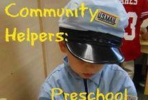 Social Studies - Community Helpers / Fun ideas for teaching social studies in the kindergarten classroom. Community Helpers