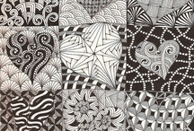Zentangle, Doodles, Op Art / by ByNina