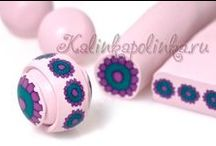 Clay / Polymer Clay Tutorials Canes and general tutes