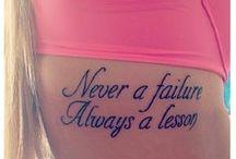 Tattoos / by Tia Britton