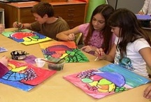 Arts and Crafts Lessons Class 2 / by Artelsie