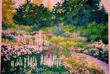My Pointillist Paintings