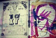 Sketchbooks / Kathleen Dutton's Sketchbooks  / by Kathleen Dutton
