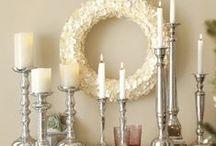 Beautiful glass/candles..