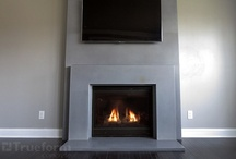 Concrete Fireplace Surrounds Gallery   Trueform Concrete
