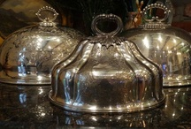 Antique Silverplate ..lots of Meat Domes/Food Covers / Wonderful accent pieces, I sell these antique domes that we find in England, France, and the back roads of Europe!