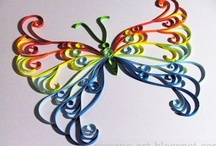 Quilling... Butterflies / by Artelsie