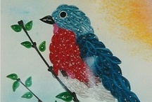Quilling... Aves 2 / by Artelsie