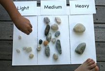 Science - Rocks and Soil / Fun ideas for teaching science in the kindergarten classroom. Rocks and Soil