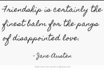 Author Quotes I Love / Famous authors and words of wisdom