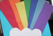1 March - Rainbows / learning about real rainbows....the colors of the rainbow.....and how leprechauns find gold at the end of the rainbow. / by Kindergarten Lifestyle