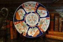 Antique French & English Majolica ~Staffordshire ~Imari ~Pottery / Plates, Chargers, Figurines, Dogs, Platters, ALL THINGS EUROPEAN!