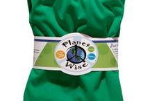 Planet Wise Inc. / Wet Bags, Pail Liners, Snack Bags and so much more!  All available here: http://www.naturebumz.com/brands/planet-wise.html