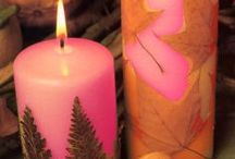 Crafts: Candle-Making / Pins on Candle DIY and Inspiration / by Lucia  Kaiser / Design by Lucia