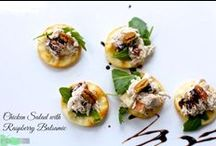 Appetizers / Recipes for Appetizers, Small Bites, Starters, Canapes / by Angela Roberts-Spinach Tiger