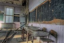 Abandoned Buildings and Haunted Places / by Julie Murray