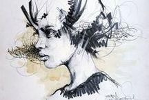 Art & Illustration  / by Jo Mitchell