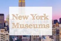 New York Museums / New York Museums | New York City museums | New York travel | New York activities | new york city tourism | nyc | museums |