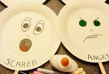 Teaching Emotions / Happy, sad, angry, tired, hungry, not so good....teach kids to discuss emotions with songs, games and activities.