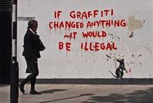Banksy / The one and only. / by Robert Leeper