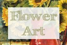 Flower Art / flower drawings | flower drawing | flower paintings | watercolor flowers | flower art | flower painting | nature art | watercolor flower | nature drawing  These flowers are sure to add style to your home decor. From red poppies to purple irises to yellow tulips, floral art sure does bring out the springtime.  Watercolor Paintings and Mixed Media Art by Miriam Schulman ©SchulmanArt