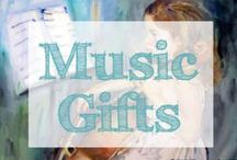 music gifts / Looking for music gifts? Great music gift ideas so you have the perfect gift for the musician or music lover in your life!