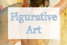 Figurative Art / Figurative art by a variety of artists. | nude art | figure drawing | nude painting | figurative art | figure