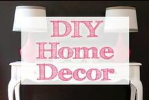 DIY Home Decor / diy home decor | diy | do it yourself | home decor | decorating ideas | home decor ideas | diy home decor ideas | diy home decor ideas rustic | rustic home decor | diy home decorating ideas