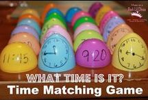 Learn Time/Dates/Months / Crafts, games, videos and flashcards for talking about time, dates, months, age and more.