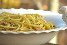 Pasta / Recipes using pasta / by Angela Roberts-Spinach Tiger