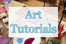Art Tutorials / how to draw | painting techniques | drawing tutorials | how to paint | art techniques | art lessons | art classes | online art classes | art tutorials | art tutorial videos