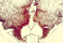Kinks, Curls, Curves / Natural hair and styles